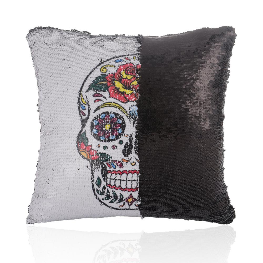 Купить украшения к хэллоуину 2020 новый хэллоуин череп голова реверсивный