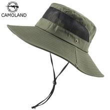 Panama Hat Uv-Protection CAMOLAND Summer Sun-Hats Fishing-Caps Wide Brim Hiking Women
