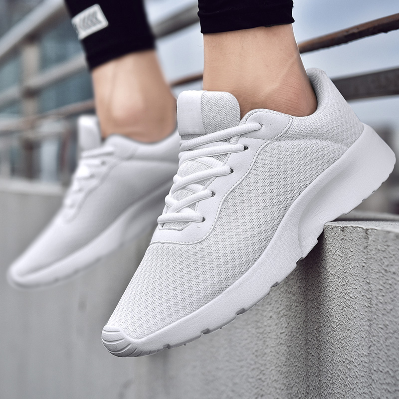 Sell Hot Cheap Sneakers Men Running Shoes Woman Elastic Sport Shoes Lightweight Soft Athletic Male Jogging Fitness Baskets Femme