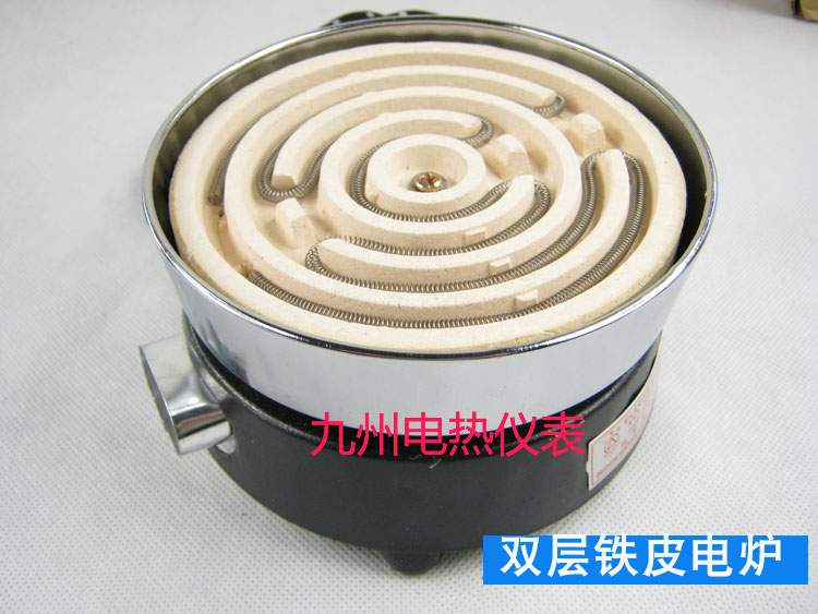 Double Layer Algam Electric Stove Household Electric Stove Experimental Electrical Stove With Origional Product Plug 300-3000W