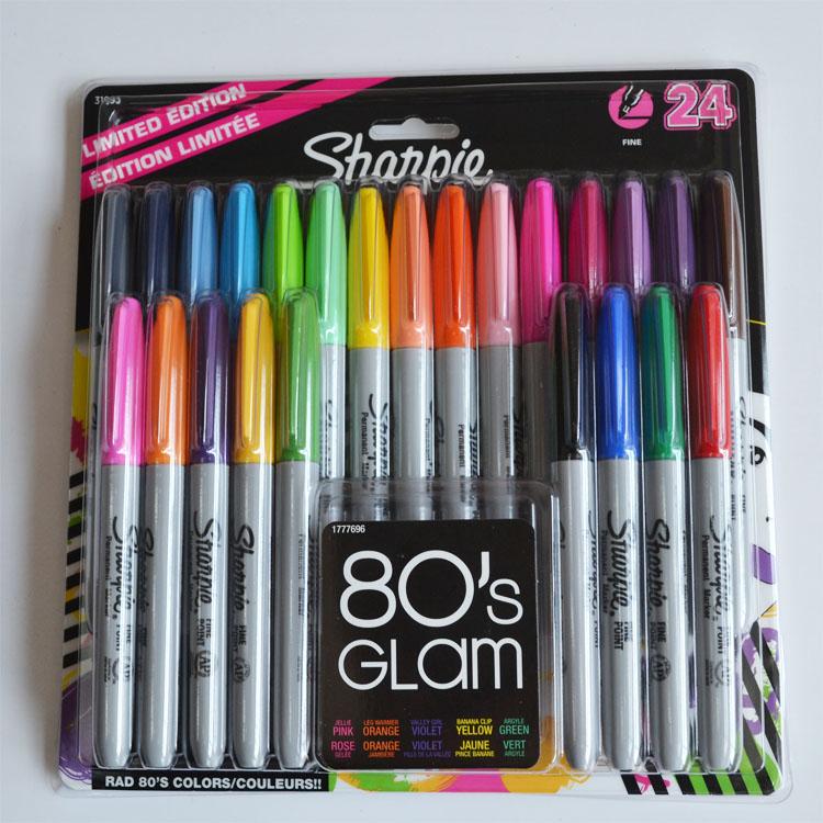 8/12/24 Colors American Sanford Sharpie Permanent Markers,eco-friendly Marker Pen,Sharpie Fine Point Permanent Marker