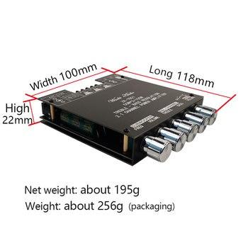 ZK-TB21 TPA3116D2 Bluetooth 5.0 Subwoofer Amplifier Board 50WX2+100W 2.1 Channel Power Audio Stereo Amplifier Board Bass AMP