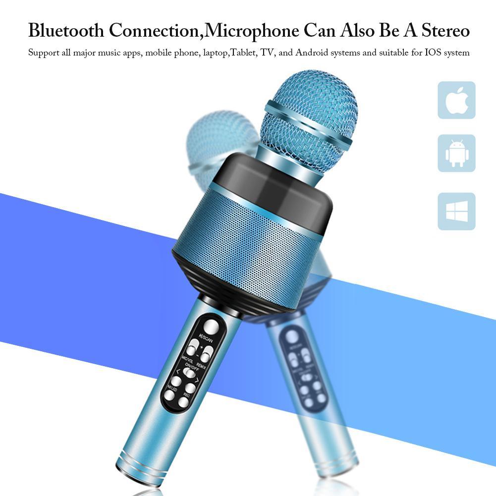 Беспроводной микрофон для караоке Ручной беспроводной музыкальный