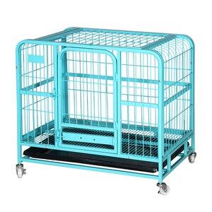 Клетка для собак, Тедди, маленький, средний, большой, с туалетом, домашнее животное, кошка, кролик