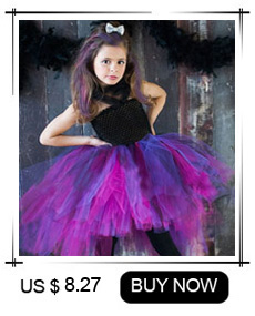 H4db98cb571994424a69ac28bcd46ae61d Maleficent Black Gown Tutu Dress with Deluxe Horns and Wings Girls Villain Fancy Dress Kids Halloween Cosplay Witch Costume
