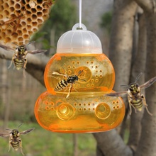 Get more info on the Plastic Non-toxic Wasp Bees Trap Anti-Sting No Chemicals Gourd Shape Bottle Catch Bee Tool Pest Control Garden Supplies