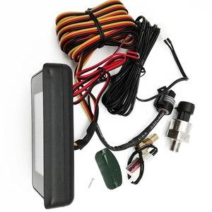 Image 2 - 3In1 Auto Öl Manometer 1/8 NPT + Voltmeter + Wasser Temperatur Gauge Meter mit M10 Sensoren