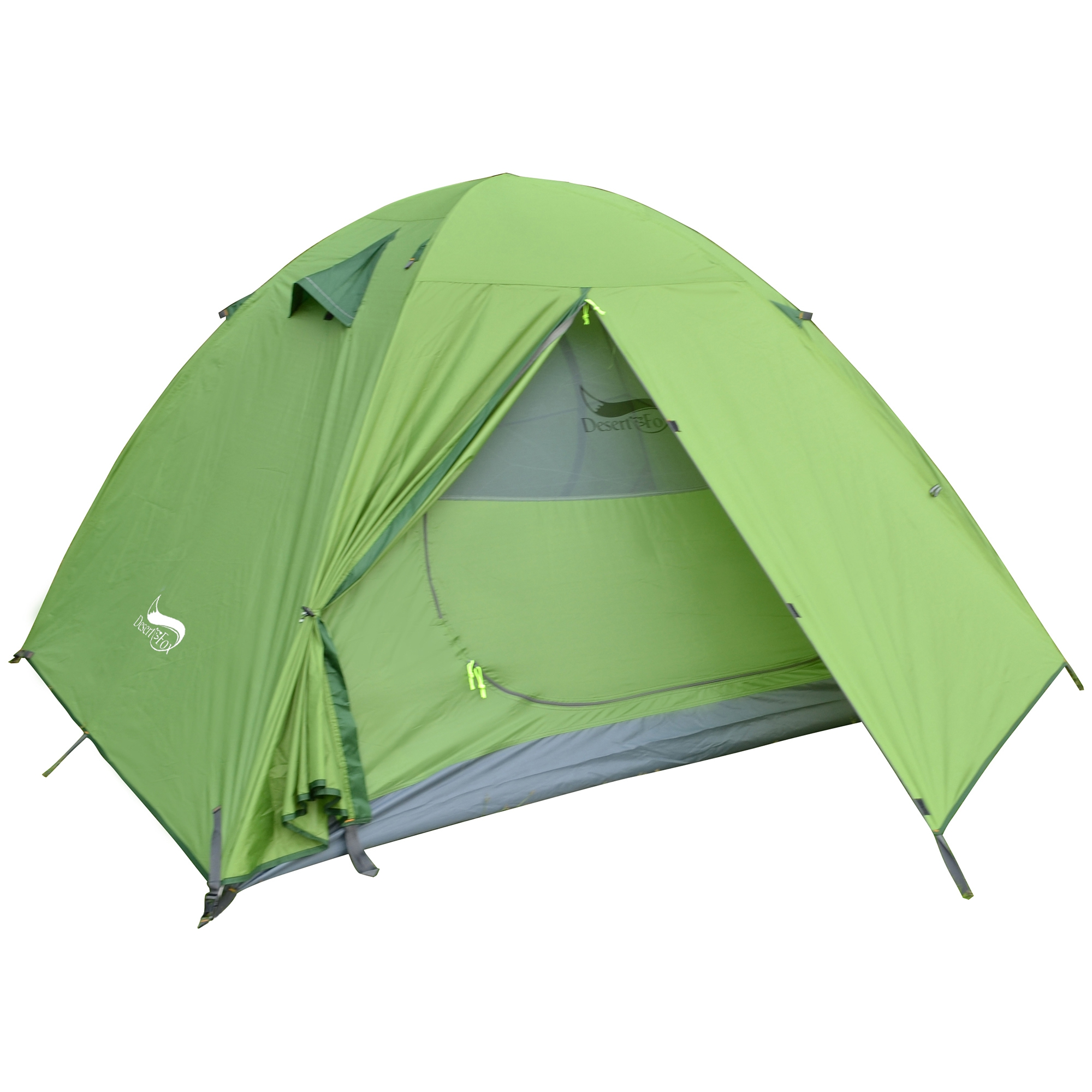 3 person tent green