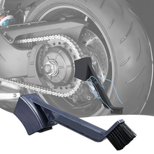 Motorcycle Bike Chain Cleaner Cleaning Brush Cycle Brake Dirt Bike Remover Tool Concave Chain Brush Motor Bike Cleaning Tools