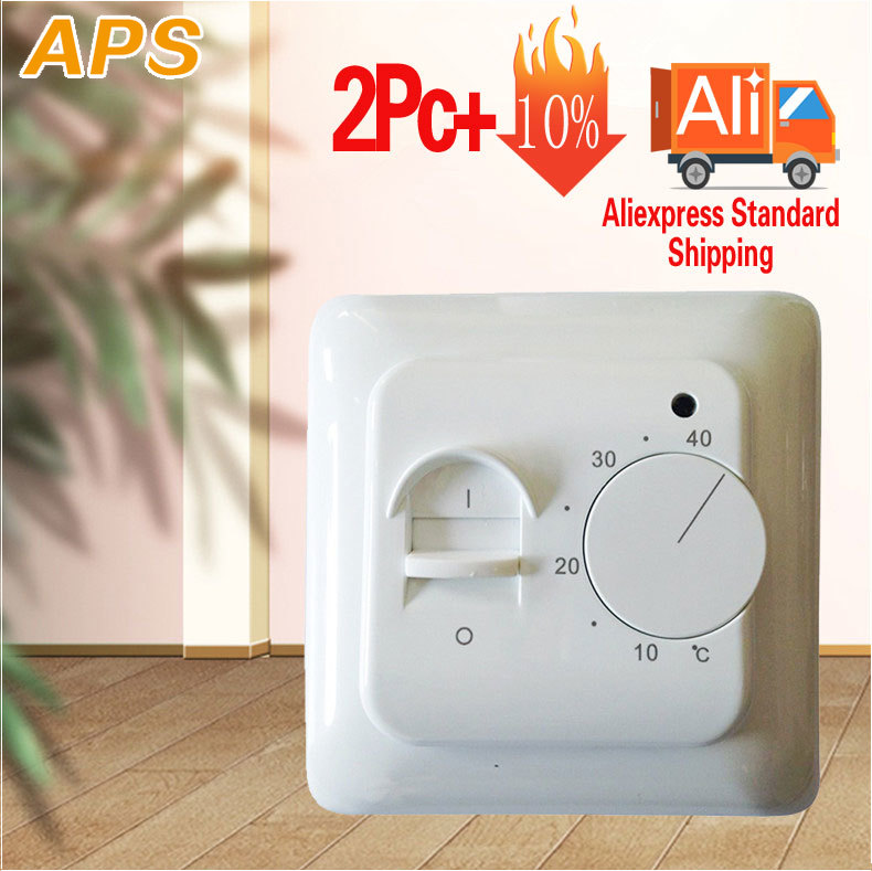 M5 Best Price Electric Floor Heating Manual Room Thermostat Warm Floor Cable 220V 16A Temperature Controller