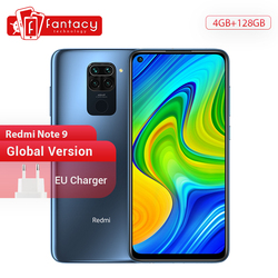 Global Version Xiaomi Redmi Note 9 Smartphone NFC 64GB 128GB Helio G85 6.53 48MP AI Quad Camera Note9 Mobile Phones 5020mAh
