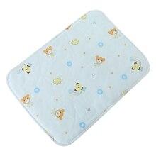 Ребенок пеленальный стол подушка многоразовый водонепроницаемый коляска подгузник складной мягкий коврик моющийся