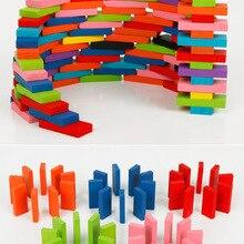 360 штук 600 штук 1000 штук Деревянные домино детские соревнования 12 цветов радужные органные домино
