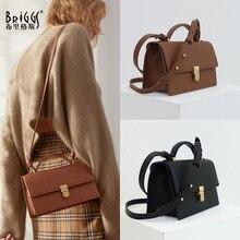 BRIGGS Designer Classic Tote Flap Bag Ladies Shoulder Bags Luxury Handbag Small Women Bags High Quality Crossbody Bag Female цены