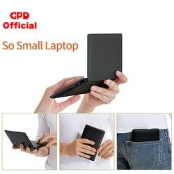 Mais recente bolso magro portátil ultrabook gpd bolso 2 8gb + 256gb 7 Polegada mini computador computador portátil netbook ips tela sensível ao toque windows 10