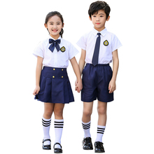 Children's school uniforms, primary and secondary students, chorus costumes, boys and girls, poetry, reading, stage performances