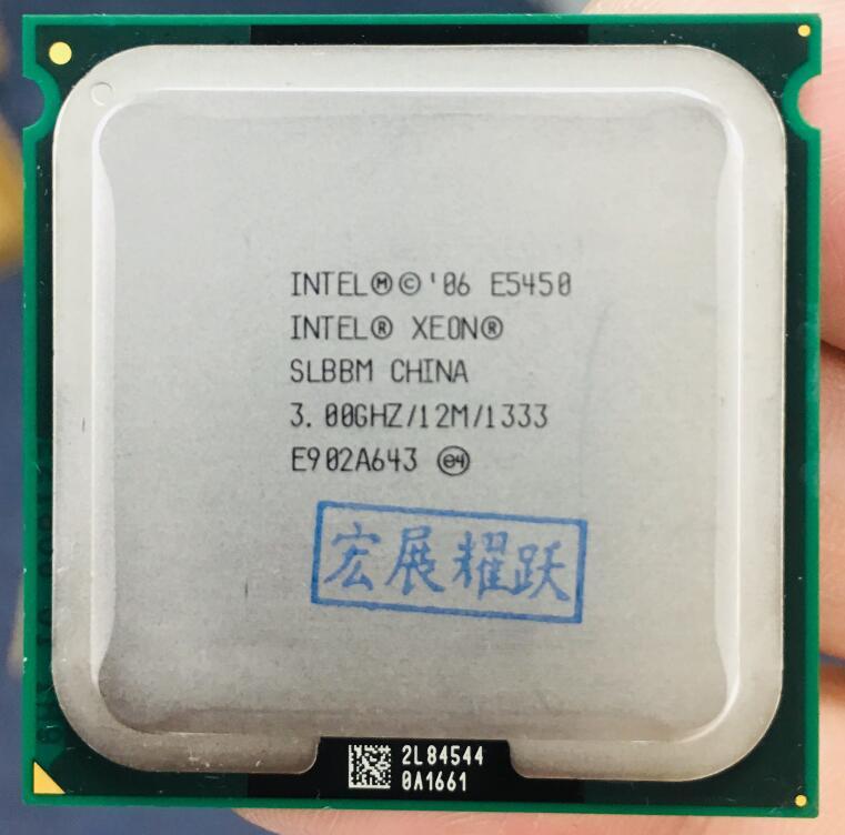 Intel Xeon E5450 Quad-Core Processor Close To LGA771  CPU,
