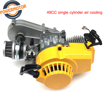 Motorcycle engine two-stroke modified version 49CC single cylinder air-cooled For Mini Dirt Bike