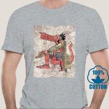3584D Hellboy Anung onz Rama T koszula męska 100% bawełna T-Shirt w stylu Vintage O Neck Tees ubrania z krótkim rękawem Plus rozmiar