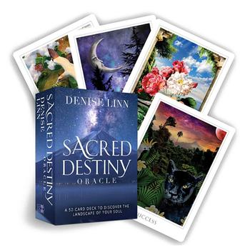 52PCS Full English Sacred Destiny Oracle Tarot Cards Mysterious Board Game Cards For Family Party Game new knowledge wisdom oracle cards 52 cards set english mysterious fortune tarot cards game for girls family card game
