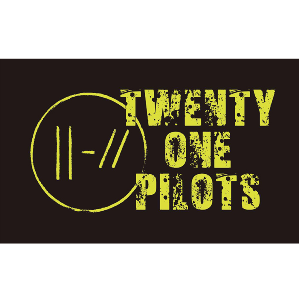 TWENTY ONE PILOTS FLAG 3x5FT 90x150CM TWO GROMMETS