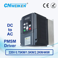 WK310 Permanent Magnetic Synchronous Motor Drive DC 280V 380V to Three phase 220V solar pump inverter with MPPT control