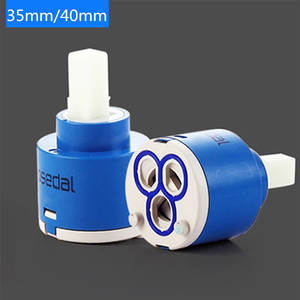 1PC 35mm40mm Watersaving Replacement Ceramic Spool Sedal Water Mixer Tap Faucet Cartridge Kitchen Bathroom Faucet Replace Part