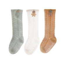 2021 Baby Socks Spring Summer Thin Mesh Infant Socks Knee High Toddler Boys Girls Socks 0-5year Cotton Little Girl Socks