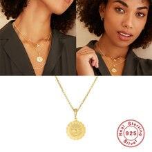 Aide реальные 100% s925 серебряное ожерелье Корея ins fashion