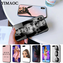 No Tears cry ariana grande Silicone Case for iPhone 5 5S 6 6S Plus 7 8 11 Pro X XS Max XR