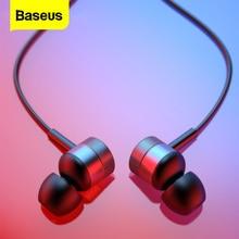 Baseus H04 Auriculares, intrauditivos estéreo con cable y micrófono para iPhone, Xiaomi y Samsung, Auriculares para MP3