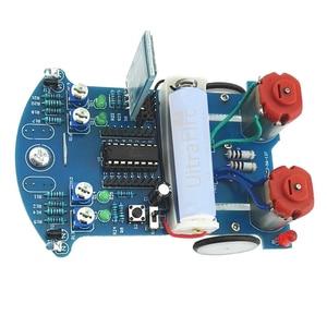 D2-6 Bluetooth Kit Carro Inteligente Rastreamento Inteligente de Controle Remoto Automóvel Gravidade Sensor Obstacle Avoidance 51 MCU DIY Caminhão