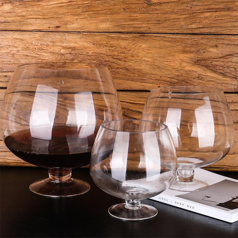 HBWHY Verres /à Liqueur Vintage Mini Verres /à vin avec Coupes en Relief pour Vodka Whisky d/écoration de Table Ornement de Table