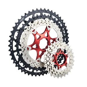 VG Sports MTB Mountain Bike 9/10/11/12 Speed Freewheel Aluminium Alloy Bicycle Cassette Flywheel Bracket Sprocket 42T 50T 52T