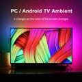 1/2/3/4/5m окружающей среды ТВ светодиодный полоски USB полный набор светодиодный светильник лента HD ТВ компьютер мечта Цвет синхронизации с Экр...