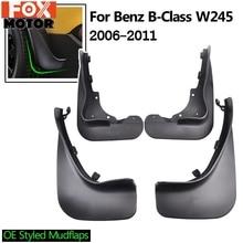 Аксессуары Брызговики для Benz B класс B-Class W245 2006-2011 брызговики передние и задние брызговики 2010 2009 2008 2007