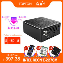 9th gen mini computador intel xeon E-2286M 2276m 2 * intel lans 2 * ddr4 64gb 2 * m.2 nvme gaming pc windows 10 linux dp hdmi2.0 ac wifi