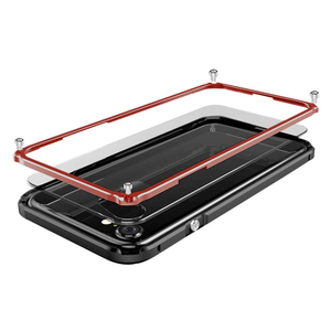 Image 2 - Kim Loại Ốp Lưng Dành Cho IPhone 7 Plus Ốp Lưng Nhôm Nguyên Khối Khung Hợp Kim Nhựa Lưng Hybrid Cho IPhone 8 Plus Sang Trọng mỏng Vỏ
