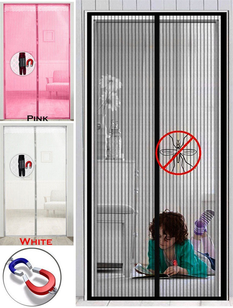 2020 Hot Summer Anti Mosquito Insect Fly Bug Curtains Magnetic Net Mesh Automatic Closing Door Screen Kitchen Curtain Window Screens Aliexpress