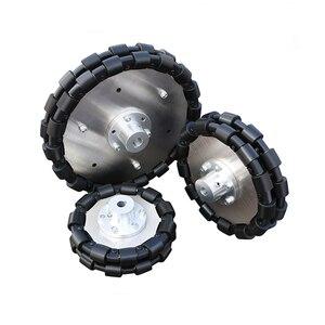 Всенаправленное колесо 127 мм 152 мм 203 мм всенаправленное колесо 5 дюймов 6 дюймов 8 дюймов всенаправленные мобильные шины для робота, Комплект ...