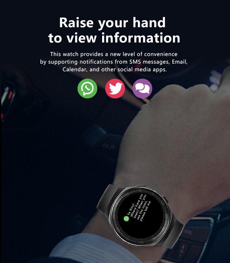 H4dbe7bb57fe74b25bdc3c5ab5e8a7f4e1 MT3 Smart Watch Men Women Music Play 8G Memory Bluetooth Call Heart Rate Fitness Health Tracker Sport Waterproof Smartwatch