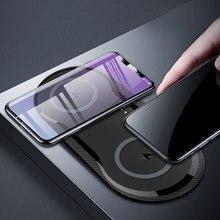 Bureau 10W double chargeur sans fil pour iPhone 11 Pro Max X XS Max XR carte de charge sans fil rapide pour Samsung Galaxy Note 9
