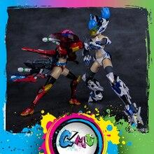 CMT Instock ejderha Momoko E Model HERACROSS ve beyaz kaplan A. t. k kız 1/12 ölçekli Model Anime cep takım elbise oyuncak figürü