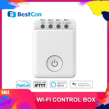 Smart Home BroadLink BestCon MCB1 Smart Wi-Fi ON/OFF Switch Wireless Control Timer Box Interruptor 2500W For IOS and Android