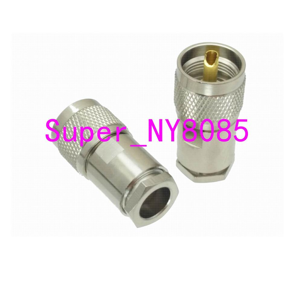UHF PL259 Male PLUG Clamp RG8 LMR400 RG165 RG213 RF Connector