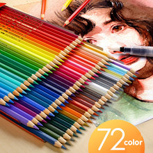 36/48/72 Color/box Color Pencil Set Professional Painting Material Artist Classic Paint Drawing Sketch Painting Art Supplies(China)