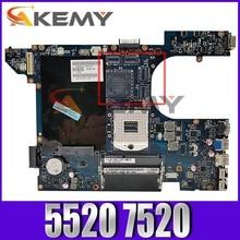 Akemy qcl00 LA-8241P mainboard para dell inspiron 15r 5520 7520 portátil placa-mãe 5520 original testado 100% trabalho