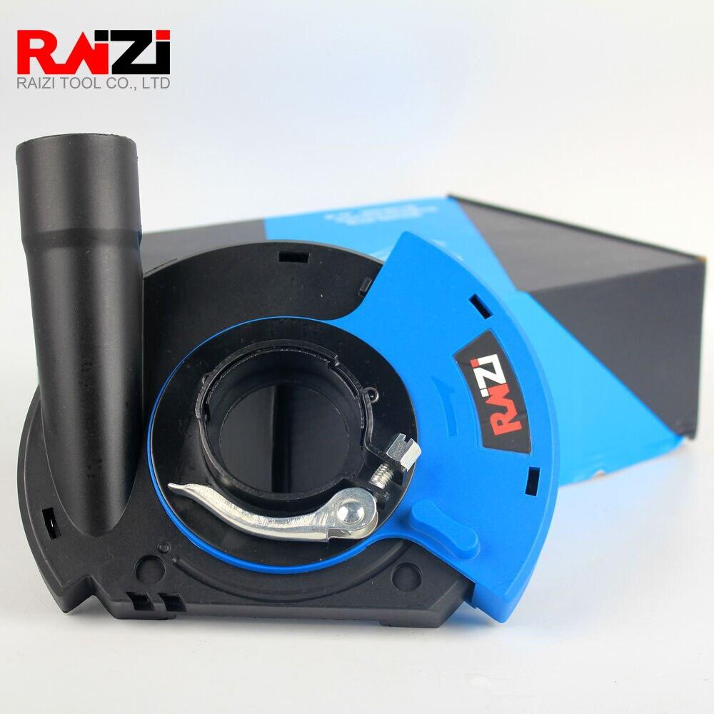 Raizi 5 인치/125mm 앵글 그라인더 먼지 슈라우드 커버 도구 콘크리트 대리석 화강암 그라인딩 먼지 수집 먼지 슈라우드