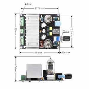 Image 4 - XH A202 12V TDA7388 أربعة قناة 4x40 W الصوت الطاقة مُضخّم صوت مجلس ستيريو preamp الصفراء عازلة سيارة أمبير aplificador