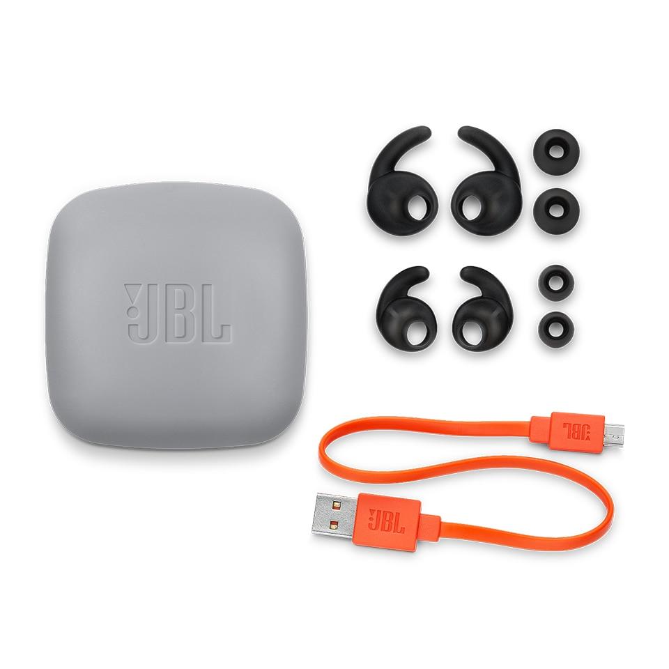 Купить с кэшбэком JBL Reflect Contour 2 Wireless Bluetooth Sport Headphones 3-Button Remote with Mic IPX5 Sweatproof Gym Headset Bass Earphones